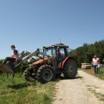 Traktor + Helfer 1